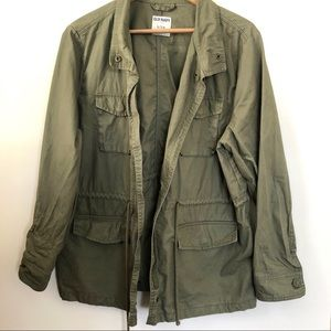 Old Navy green utility jacket size XL